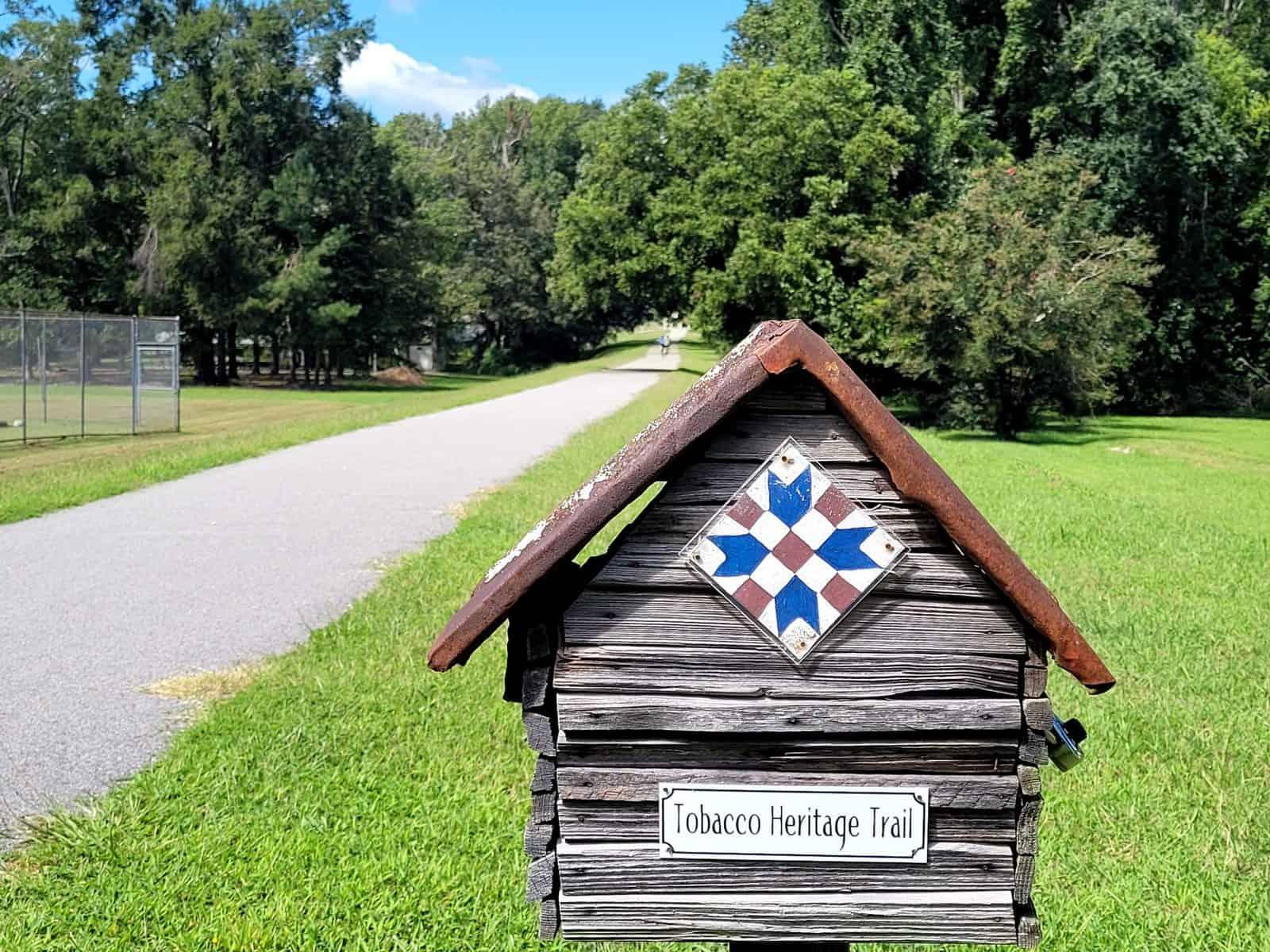 tobacco heritage trail is paved between brodnax and la crosse